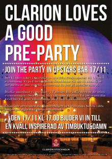 Timbuktu & Damn på Clarion Hotel Stockholm