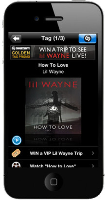 "Shazam, VEVO and ""The Best Rapper Alive"" Lil Wayne Launch First Music Video Incorporating Shazam for TV"