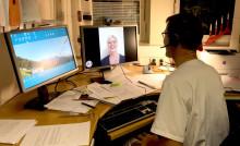 Digitala möten möjliggör för folk att sluta röka
