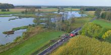 Efterlängtad cykelväg tas i bruk
