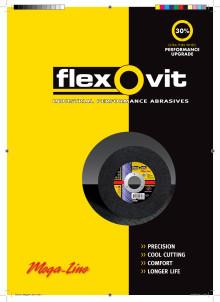 Brochure Flexovit Mega-Line cutting-off wheels