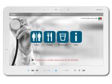 Ny Service Call® Client för patientterminaler