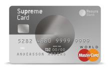 Resurs Banks kort Supreme Card fyller 10 år och firar med ny kostym och nya, smarta tjänster