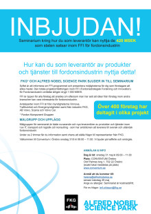 FFI-information i Örebro 31 maj 2017