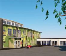 M3 Bygg har produktionsstartat utbyggnaden av Soldalaskolan i Södertälje