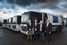 50 biogasdrivna Mercedes-Benz till Stockholms sophämtning