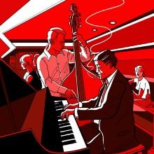 Jazz och sparris den 4 maj på Hotell Kristina