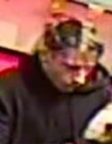 Do you recognise man with ginger stubble in image? We would like to speak with him in connection with a betting shop robbery.