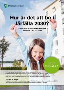 Populärversion av översiktsplan - Järfälla nu till 2030