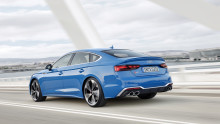 Opdateret Audi A5 med altid elegante linjer