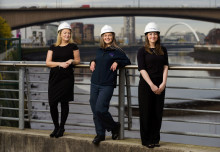 Glasgow sisters hang up on flipping burgers to become BT engineers