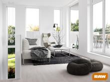 Goda utsikter för snabb fönsterleverans - premiär för RAW energifönster