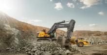 Nu är Volvos 90-tons grävmaskin tillgänglig världen över