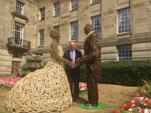 ​I now pronounce you – wicker man and wife!