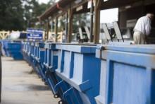 Nu börjar Lidköpings nya återvinningscentral byggas