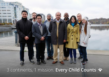 3 Continents 1 Mission, Every Child Counts