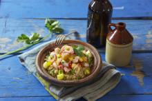 Poké og Chenin Blanc fra Sør-Afrika, en perfekt kombinasjon i sommervarmen!