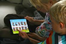Barne-app rett til topps