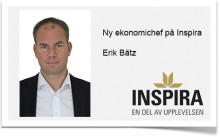 Erik Bätz ny ekonomichef på Inspira.