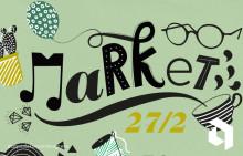 Säsongspremiär 27/2: Market - med mikroBEAT, Andreas Tilliander, konst, brunch och mer!