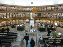 Stockholms stadsbibliotek går med i Libris