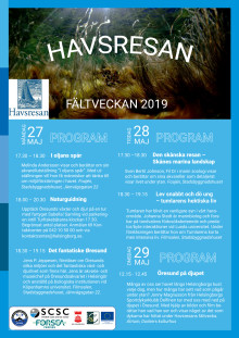 Program Havsresan 2019