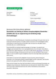 Gröna Bilister Remissvar 2020-011879 föreskrifter om rapportering för miljöinformation.pdf