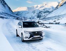 Mitsubishi Outlander PHEV med 7 års Norgesgaranti