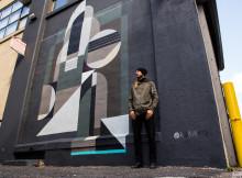 Muralmålning och gatukonstfestival på Saturnusgatan i Bergsjön