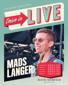 """Mads Langer tilføjes """"Drive In - Live"""" programmet"""