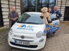 Neuer Flitzer für Bärenherz: LRP stellt Fahrzeug für ein Jahr zur Verfügung