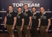 Scania Team Kirchbichl ist eines der 12 besten Werkstattteams der Welt