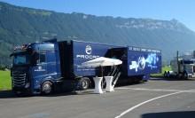 PROCAD-Truck bringt PLM Know-how auf Schweizer Straßen