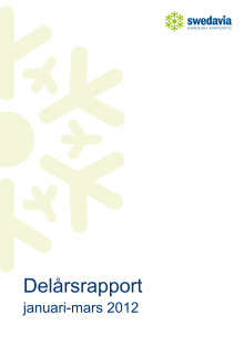 Delårsrapport kvartal 1, 2012