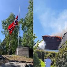 Brannen på Stigenga - en hilsen fra BU-lederen