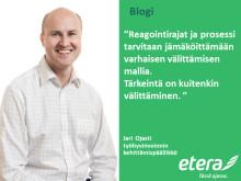 Jari Ojasti:   Uskallanko välittää – myös töissä?