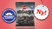 Malaco stödjer Mustaschkampen med goda mustascher