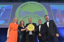 Arla farmer crowned champion of champions at Farmers Weekly Awards