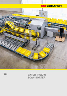 Batch Pick'n Scan Sorter brochure