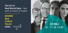 Brown Bag Lunch Talks:  The Art of Real World Data – fast lane to future of health