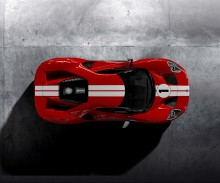 Ford GT '67 Heritage változat: a Ford Performance az 1967-es Le Mans-győztes gép fényezésével emlékezik meg a történelmi jelentőségű diadalról