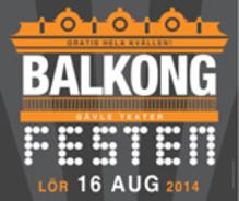 Balkongfest på Gävle Teater