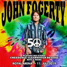 John Fogerty: Den legendariske Creedence Clearwater Revival forsanger gæster hovedstaden til sommer