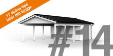 17 sköna tips inför ditt bygge – TIPS 14: GARAGE ELLER CARPORT?