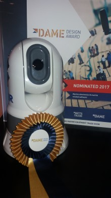 FLIR: METSTRADE - FLIR 232 Marine Thermal Camera Receives DAME Design  Award Special Mention