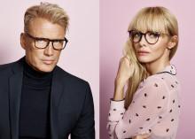 Dolph Lundgren och Izabella Scorupco frontar Smarteyes höstkampanj