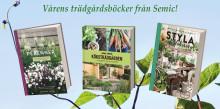 Vårens trädgårdsböcker från Bokförlaget Semic