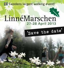Borås och Linnémarschen vandrar ut i världen