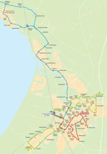 Ängelholm får tre stadsbusslinjer i stället för två från 13 december