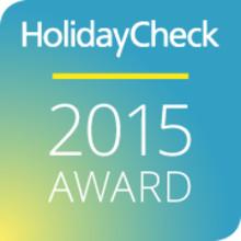 Zwei HolidayCheck Awards 2015 für die DolceVita Hotels
